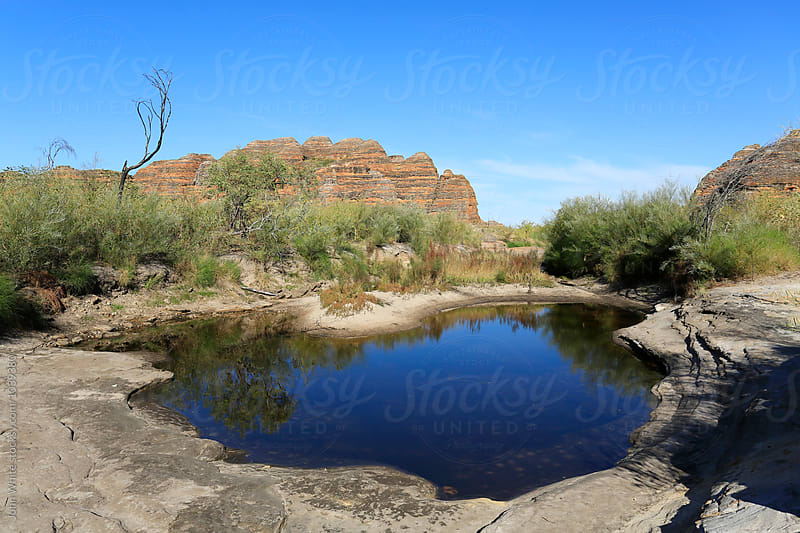 A billabong in the Bungle Bungle. Western Australia. by John White for Stocksy United