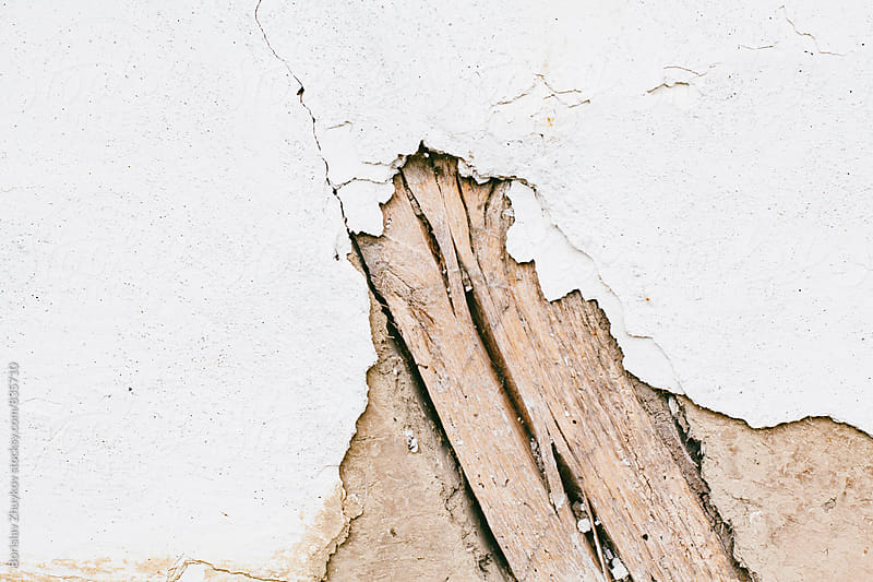 Crack Wall Texture by Borislav Zhuykov for Stocksy United