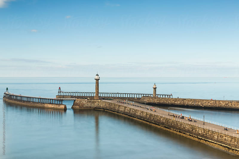 West Pier, Whitby by Marilar Irastorza for Stocksy United