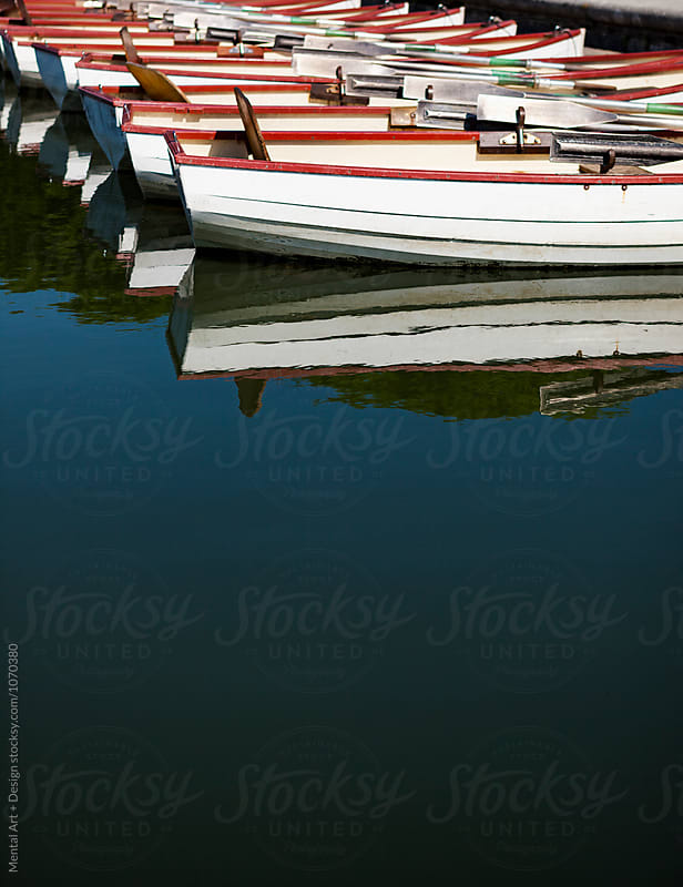 Row Boats by Mental Art + Design for Stocksy United