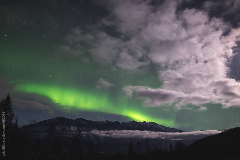 Aurora Borealis Clouds Knik by Jake Elko for Stocksy United