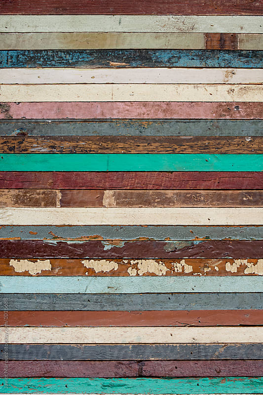 Vintage wood colors by Javier Marquez for Stocksy United