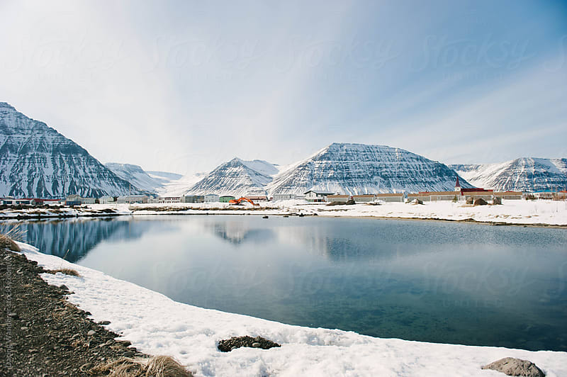 Fishing Village in northern Iceland by Daring Wanderer for Stocksy United