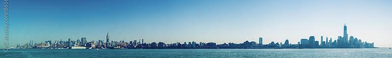 Manhattan skyline - New York City by GIC for Stocksy United