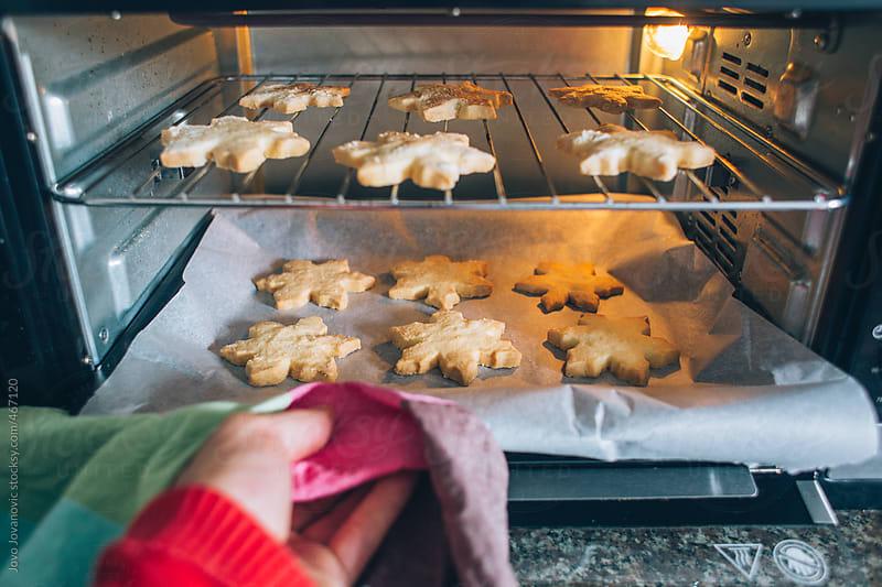 Baking Christmas Cookies by Jovo Jovanovic for Stocksy United