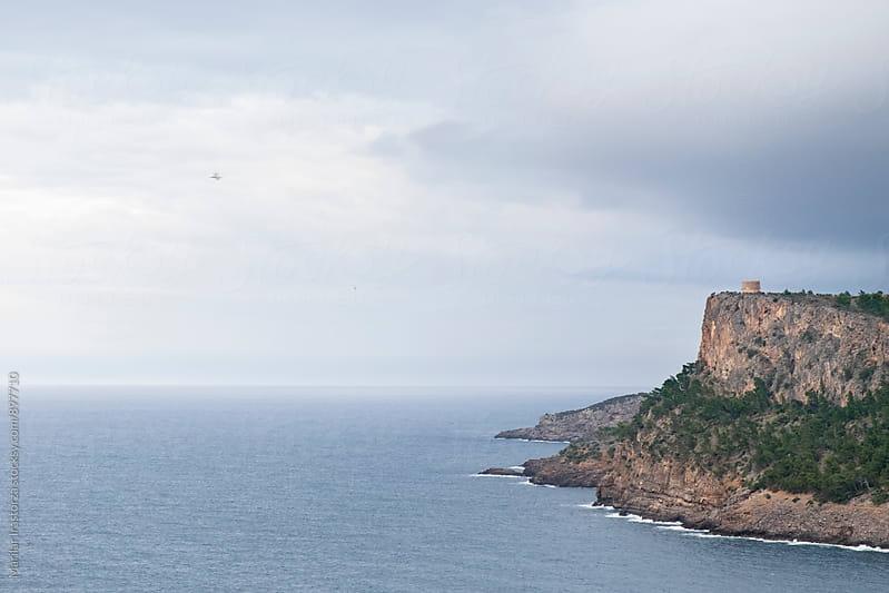 Mediterranean coast in winter by Marilar Irastorza for Stocksy United