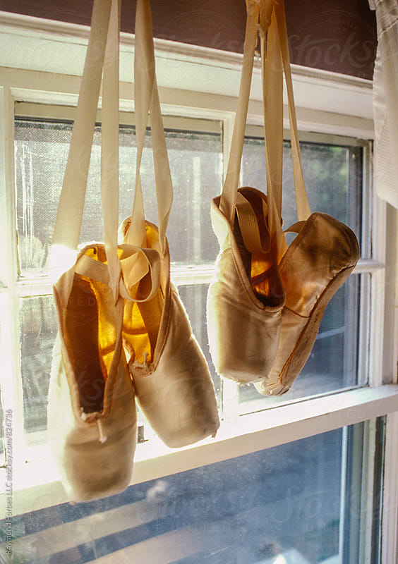 Ballet Shoes in Girls Room by Raymond Forbes LLC for Stocksy United