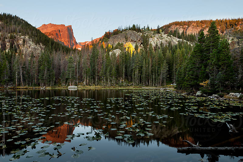 Sunrise at the Lake by Casey McCallister for Stocksy United