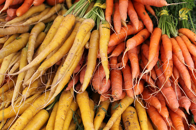 Organic Carrots From A Garden by Carey Haider for Stocksy United