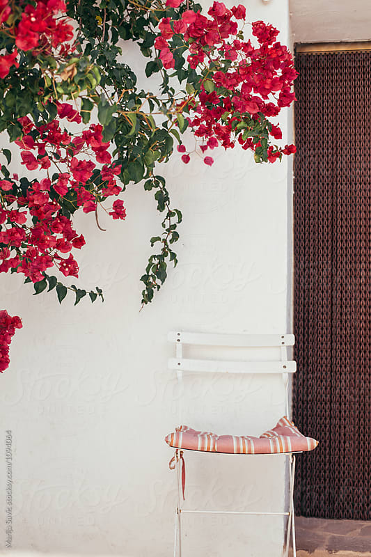 Detail od Typical Spanish Exterior by Marija Savic for Stocksy United