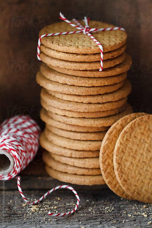 Stack of cookies  by Dobránska Renáta for Stocksy United