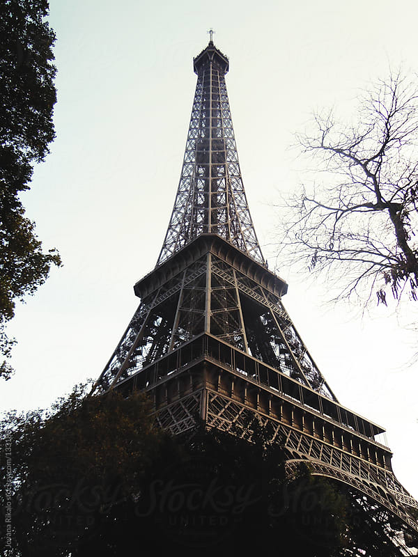 Eiffel Tower by Jovana Rikalo for Stocksy United