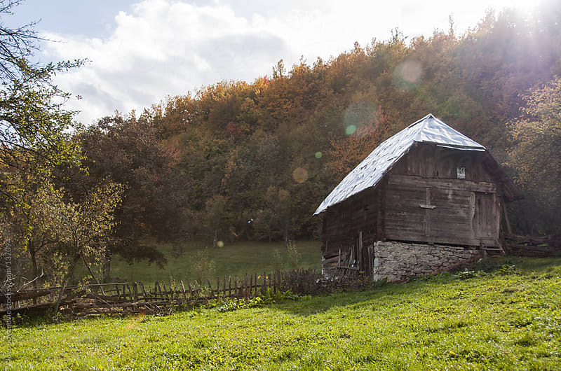 Old traditional house in mountains. by Jovo Jovanovic for Stocksy United