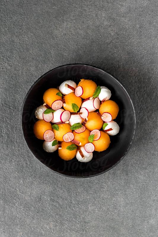 Cantaloup salad  by KEMA Food Culture for Stocksy United