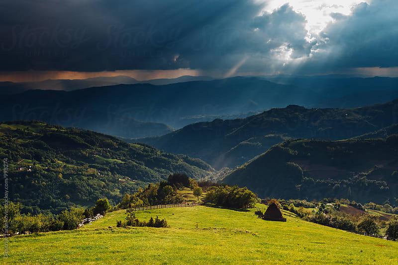 Mountain landscape by Dimitrije Tanaskovic for Stocksy United