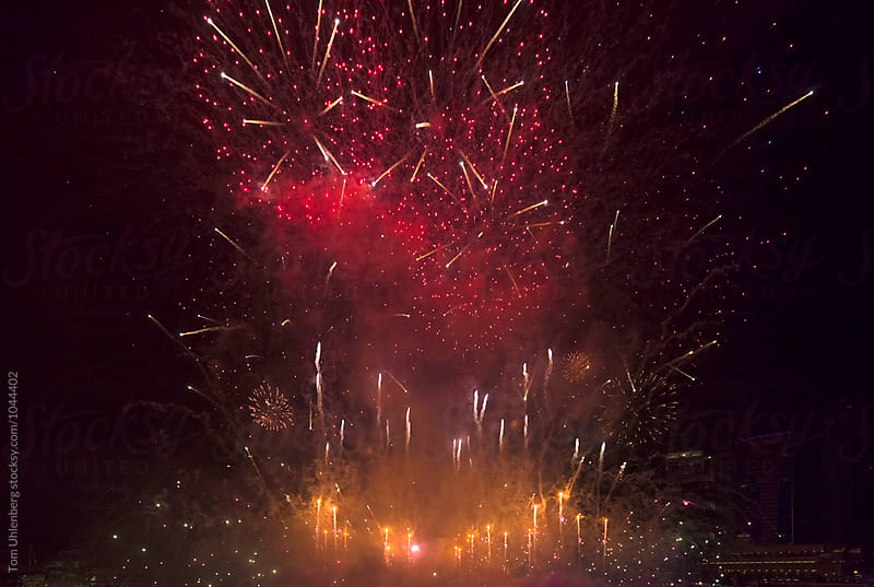 Fireworks Display by Tom Uhlenberg for Stocksy United
