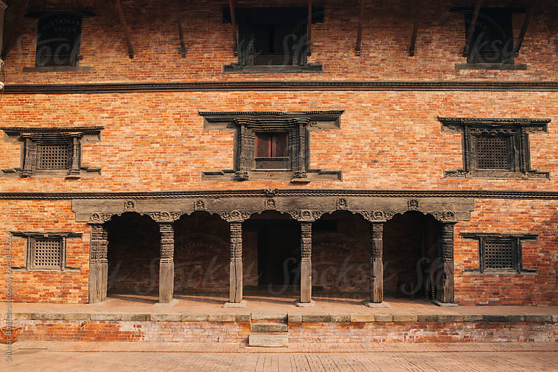 Architecture of Patan Durbar Square. by Shikhar Bhattarai for Stocksy United