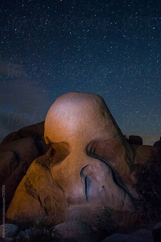 Skull Rock by Nathan French for Stocksy United