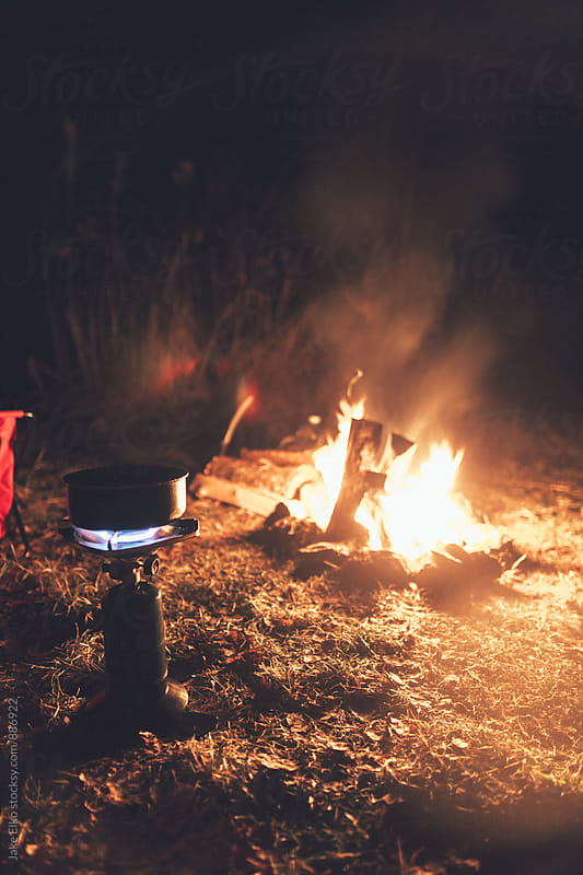 Campfire Cooking by Jake Elko for Stocksy United