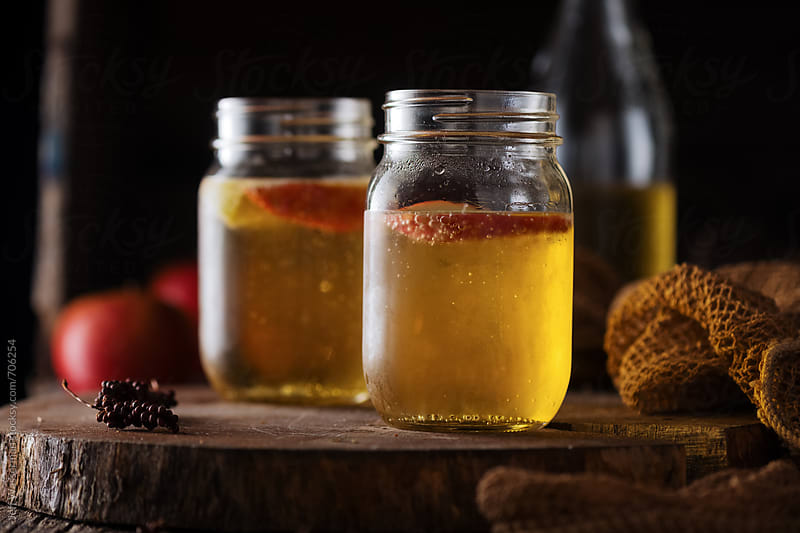 Sparkling Apple Cider by Jeff Wasserman for Stocksy United