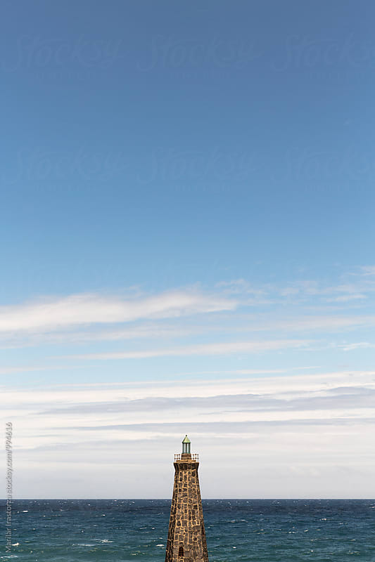 Small Lighthouse by Marilar Irastorza for Stocksy United