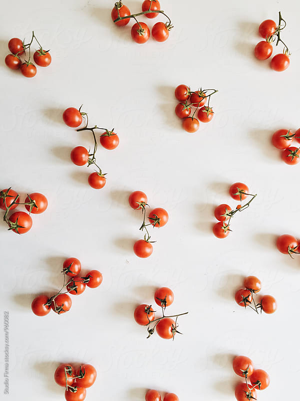 Cherry Tomatoes by Studio Firma for Stocksy United