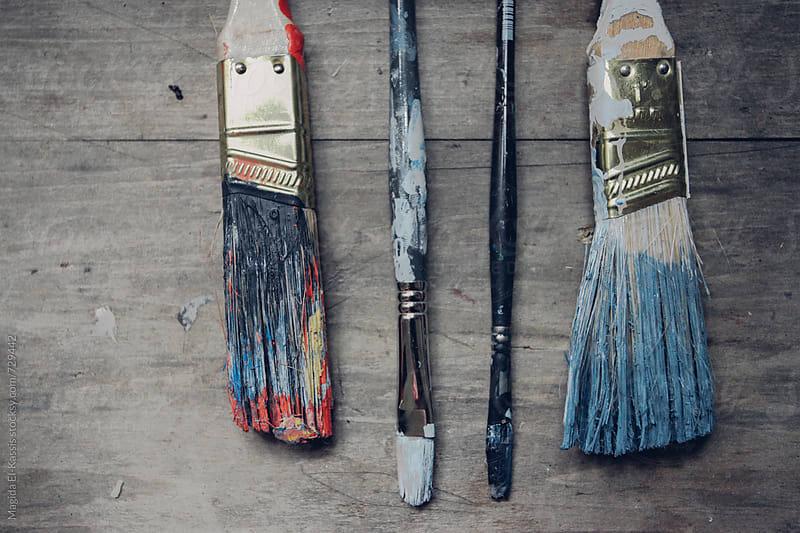 artist tool by Magida El-Kassis for Stocksy United