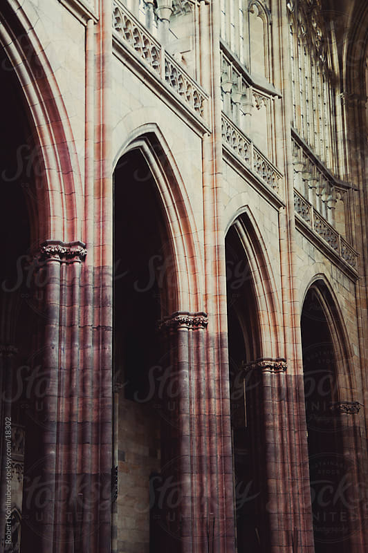 Saint Vitus cathedral in prague by Robert Kohlhuber for Stocksy United