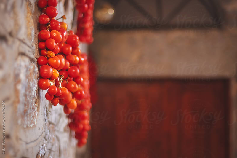 Traditional Dried Tomatoes by Helen Sotiriadis for Stocksy United