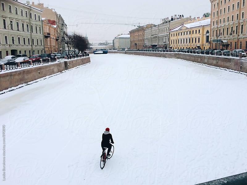 Winter activity  by Lyuba Burakova for Stocksy United