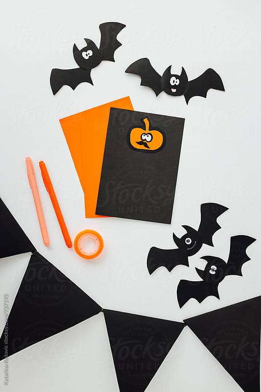 DIY Halloween Party Decoration by Katarina Radovic for Stocksy United