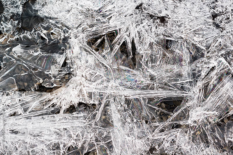 Ice structures by Peter Wey for Stocksy United