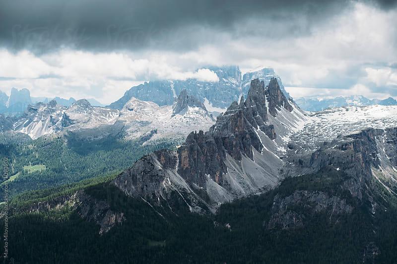Mountain landscape by Marko Milovanović for Stocksy United