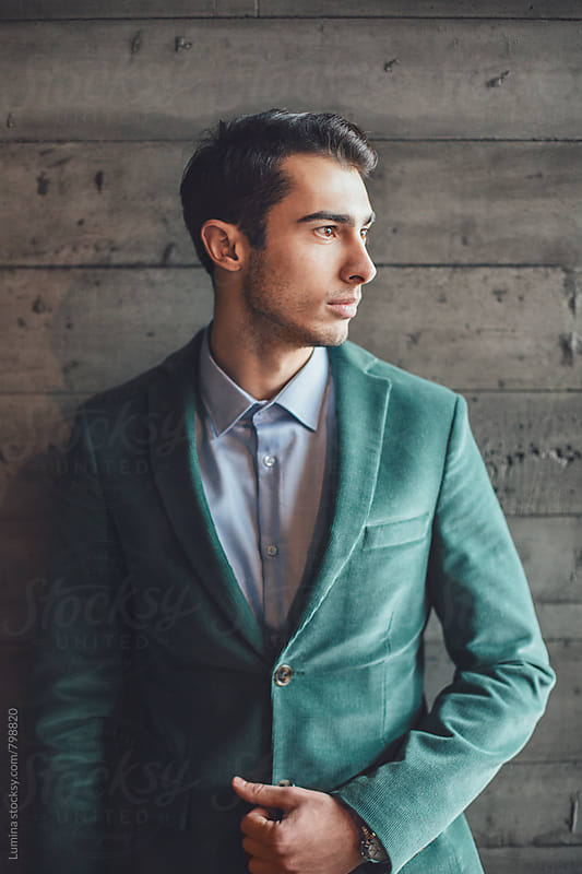 Portrait of a Businessman by Lumina for Stocksy United