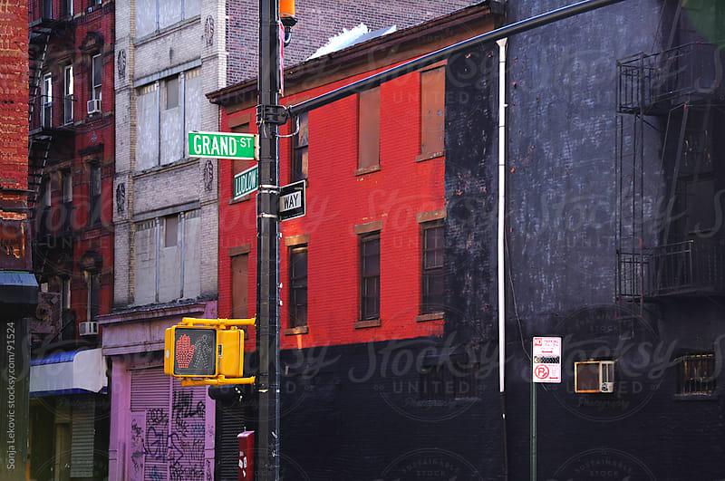 street in manhattan, new york  by Sonja Lekovic for Stocksy United