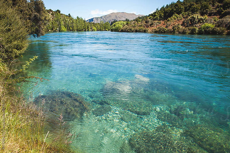 Clutha River in New Zealand. by RZ CREATIVE for Stocksy United