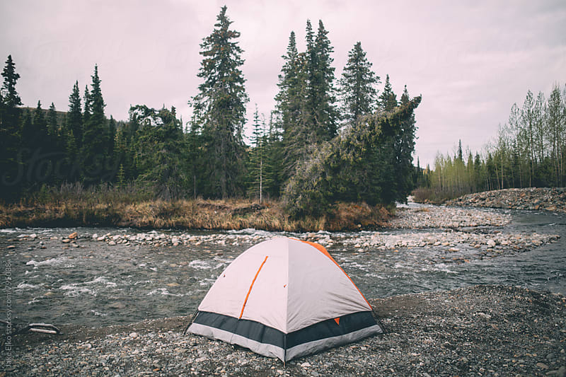 Tent Life by Jake Elko for Stocksy United