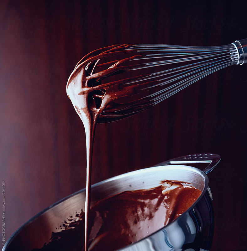 Chocolate zabaglione by J.R. PHOTOGRAPHY for Stocksy United