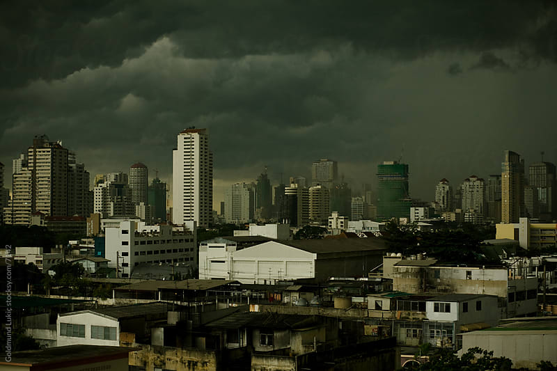 Bangkok Skyline by Goldmund Lukic for Stocksy United