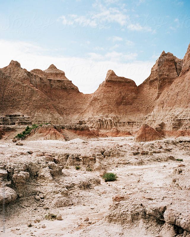 Badlands, National Park by Adam Naples for Stocksy United