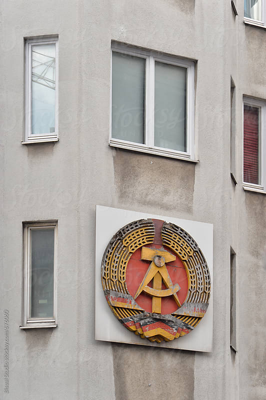 Communist symbol in the streets of berlin by Bisual Studio for Stocksy United