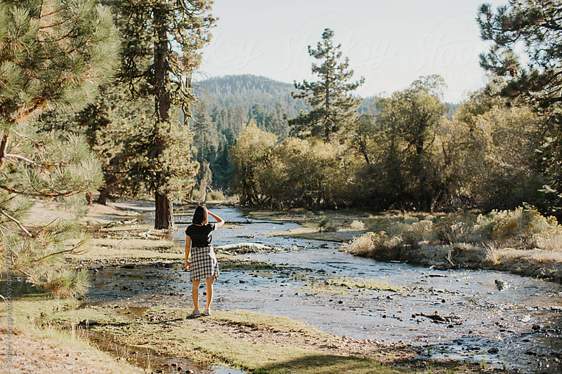 Christine in Lassen Park by Sidney Morgan for Stocksy United