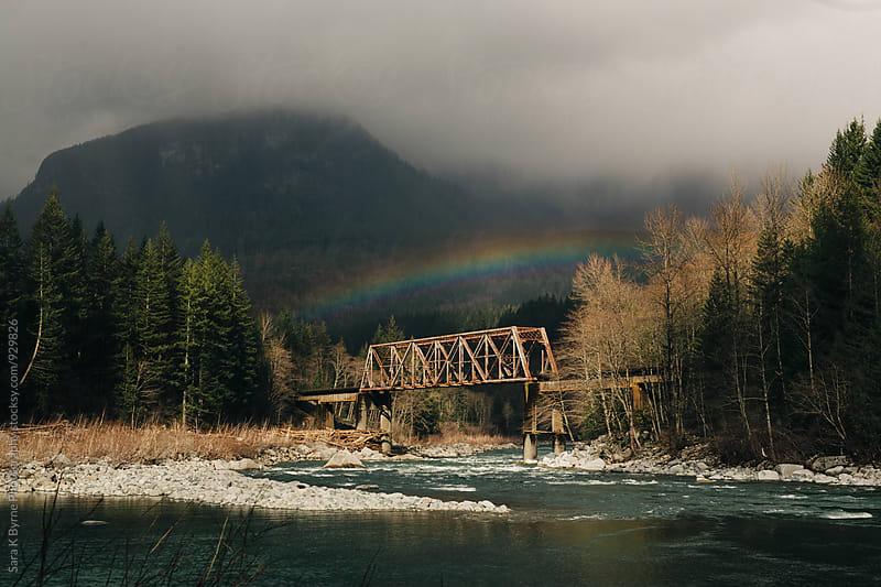 Rainbow by Sara K Byrne Photography for Stocksy United
