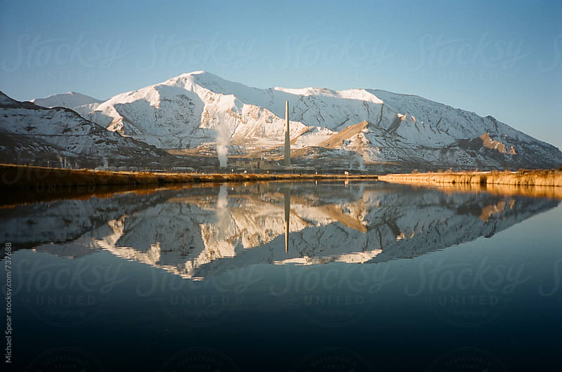Mountain Reflection by Michael Spear for Stocksy United