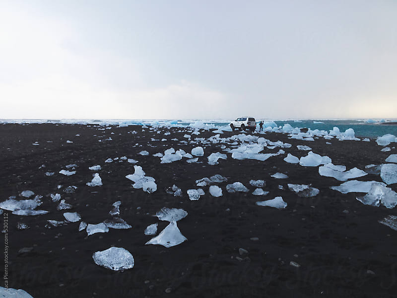 Jökulsárlón beach, Iceland by Luca Pierro for Stocksy United