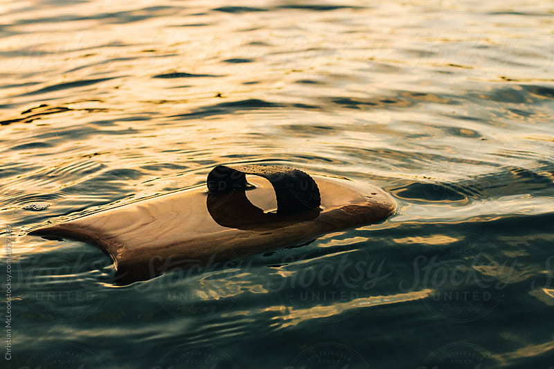 Handplane floating. by Christian McLeod Photography for Stocksy United