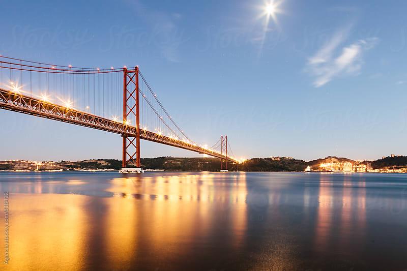 25th April Bridge by Agencia for Stocksy United
