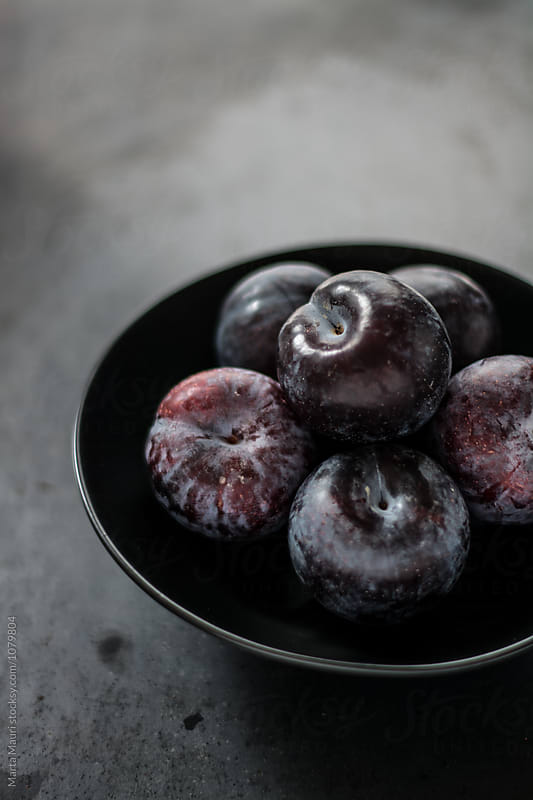 Plums by KEMA Food Culture for Stocksy United
