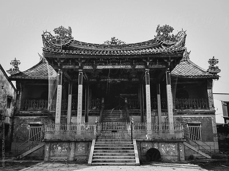 Chinese Temple by VISUALSPECTRUM for Stocksy United