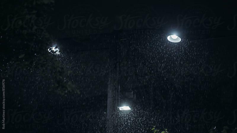 NIGHT RAIN by Rob Martinez for Stocksy United